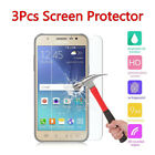 3 Pcs Samsung Galaxy J3 J7 On5 Tempered Glass Scratch Resistant Screen Protector