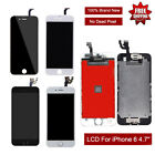 """Replace LCD Digitizer Touch Screen Assembly Glass For iPhone 6 4.7"""" A1549 A1586"""