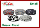 SNOOZA SHAPES ROUND CUSHION, CAT AND DOG PET BED/CUSHION, WASHABLE BED - SMALL