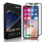 For Apple iPhone 10X 3D HD Clear Full Cover Tempered Glass Film Screen Protector