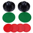 Ice Hockey Felt Pushers Charpies Pucks Set Replacement Accessories 3 Sizes SA