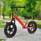 "Children 12"" No-Pedal Balance Bike Learn To Ride Adjustable Seat Pre Bicycle"