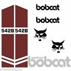 Bobcat Clark 542 B DECALS Stickers Skid Steer loader New Repro decal Kit