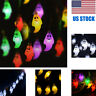Indoor/Outdoor Use 1.2M 10 LEDs Ghost String Lights For Halloween Party Decor