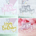 Happy Birthday Candle Party Cake Toppers Decoration Candles Pink Gold Rainbow