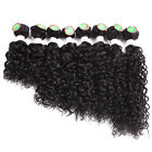 8-14inch Human Hair Jerry Curly Weave Sew in Hair Extensions Ombre Hair Weave