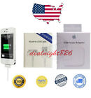 OEM Original Authentic Apple iPhone 4 4S Ipad 12W Wall Charger+30 Pin USB Cable