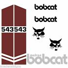 Bobcat Melroe 543 543B DECALS Stickers Skid Steer loader New Repro decal Kit