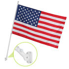 6'16'20'25' Aluminum Sectional Flagpole Kit Outdoor Halyard Pole + 1PC US Flag