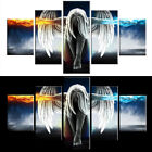 5PCS Home Angel Wings Oil Painting Canvas Printing Wall Art Picture Decor US