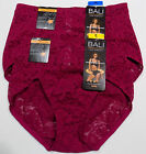 NEW Bali Firm Control Medium or XL Lace Brief style DF8L14 mspr $24