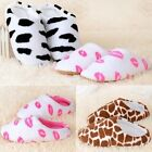 Women Shoes Indoor Warm Coral Fleece Slipper Soft Casual Home Office Flipflop
