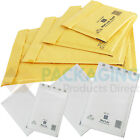 Mail Lite Gold/White Mailing Padded Postal Bags C/0 / D/1 + 24H COURIER
