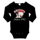 My First Christmas - long sleeve baby bodysuit onsie, personalize it!