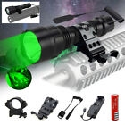 6000Lm C8 LED Tactical Flashlight Military Torch Mount Gun Hunting Light 18650