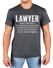 Lawyer T-shirt Define Law Novelty Funny Office