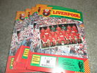 LIVERPOOL HOME PROGRMMMES FROM 1984/5  INC CUP EURO  LEAGUE CHOOSE FROM LIST