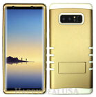 For Samsung Galaxy Note 8 - KoolKase Hybrid Silicone Cover Case - Gold