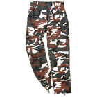 New Mens Army Style RANGER Combat Cargo Pants Trousers RED CAMO