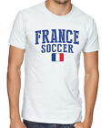 France Team Soccer T-shirt Adults Men's Soccer Jersey 100% cotton Any Sports image