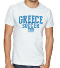 Greece Team Soccer T-shirt Adults Men's Soccer Jersey 100% cotton Any Sports image