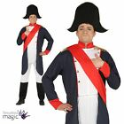 Adults Napoleon Conqueror Leader Sea Captain Noble Fancy Dress Costume Outfit
