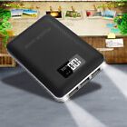 Portable 50000mAh LCD Power Bank 3USB 2LED Backup Battery Charger For iPhoneX 8