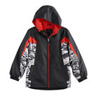 NEW Boys Winter Coat 8 10-12 14-16 18-20 Black Hooded Arctic Quest Lined Jacket