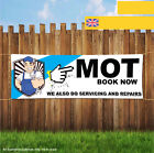 MOT SERVICING AND REPAIRS GARAGE TEST Outdoor Heavy Duty PVC  Banner Sign 2055