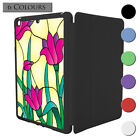 Stained Glass Flower Pattern Smart Case Cover For Apple iPad Mini 1 2 3 - S3526