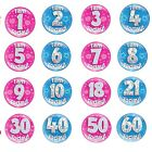 Jumbo Large Birthday Badge 30th 40th 50th 60th 70th 80th Male Female Funny Gift