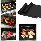 2/4pcs BBQ Grill Mat Non Stick Pad for Gas Easy Bake Cook Grate Cover Outdoor