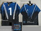 S or M by OLIVER KAHN 1 ADIDAS GOALKEEPER Football Soccer Shirt Jersey