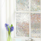 Static Cling Frosted Stained Bath Glass Window Film Sticker Privacy Home Decor