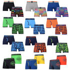 Crosshatch Mens Designer Pack Of Two Boxer Shorts Lightweight Stretchy Underwear