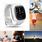 Bluetooth Smart Wrist Watch Phone Mate For iPHone Android Samsung IOS Waterproof