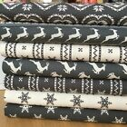 Scandi Nordic Design piece Christmas bundles Grey & Cream 100% cotton fabric