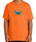 Kyпить 3D Crab Kid's T-shirt Puffy Crab print on chest Tee for Youth - 1876C на еВаy.соm