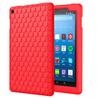 MoKo Honey Soft Silicone Shockproof Back Cover Case for Amazon Fire HD 8 8th/7th