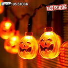 LED String Lights 20 Pumpkin Ghost 2M for Halloween Decoration Party Indoor