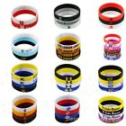 Basketball ALLStar Wristband Silicone Wrist Band Sports Rubber Bracelet Fun Run