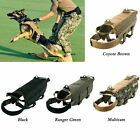 Tactical K9 Dog Military US Police Molle Vest Vlcro Service Canine Harness USA