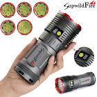 New Supwildfire 35000LM 12 x XM-L T6 LED Waterproof Hunting Flashligt Torch Lamp