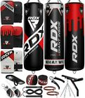 RDX Heavy Bag Punching Kick Boxing Gloves Chains Brackets MMA Training Green US
