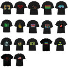 Men Sound Activated LED Light Up Short Sleeve T-shirt Dance Rave Party Match Top