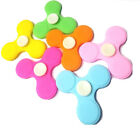 New Fidget Spinner 2017 Latest Soft Rubber Stress Relief Spinner ADD & ADHD Toy