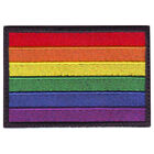 RAINBOW GAY PRIDE FLAG EMBROIDERED PATCH