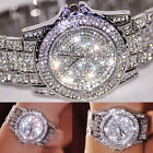 2017 Fashion Women Lady Girl Alloy Bling Rhinestone Analog Quartz Wrist Watch