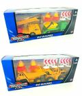 Teamsterz Big Builders Construction Series Dumptruck Digger Skip Lorry Set Toy