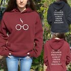 Harry Potter Hoddie Hoody Glasses Hogwarts Alumni Costume Sweater Sweatshirt